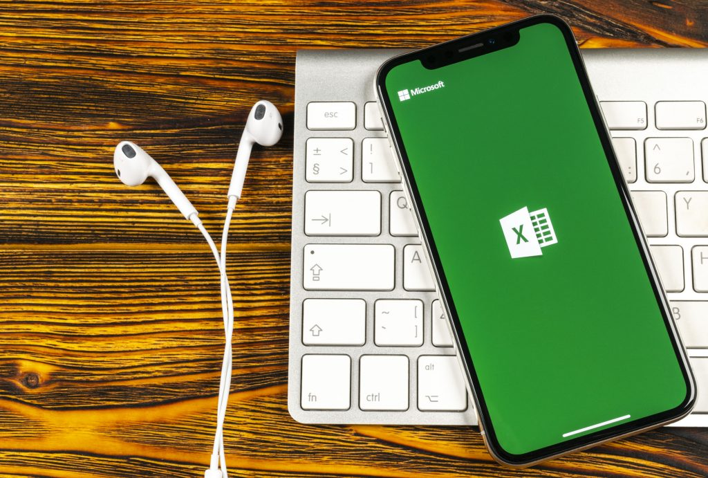 Excel op mobiel