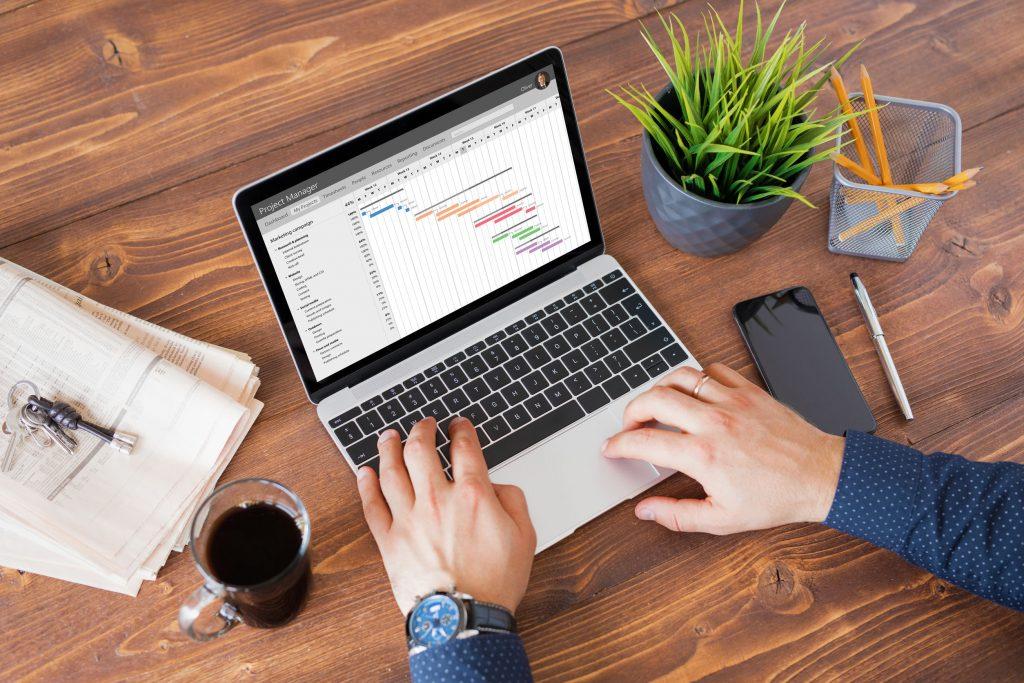 werken met Excel
